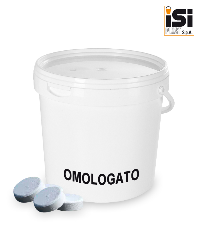 MU12000M3/ONU for the packaging of chlorine tablets