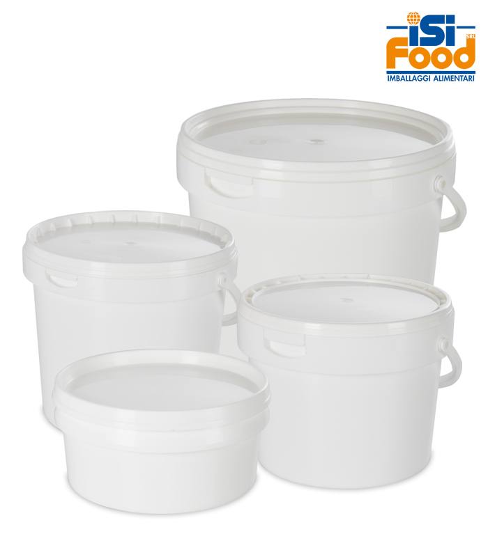 buckets for semi-finished ice cream products