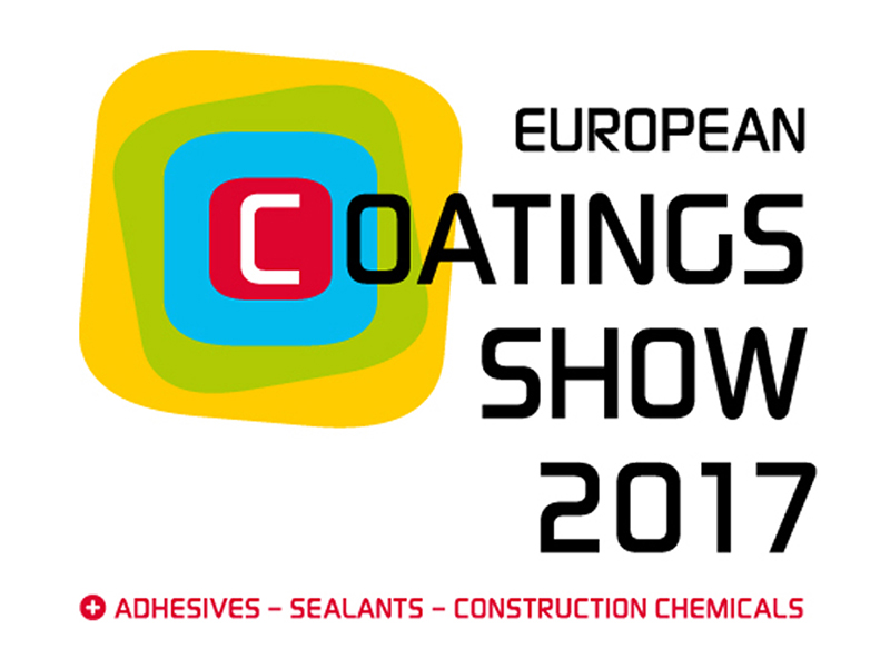 European Coatings Show - 4 - 6 April 2017 in Nuremberg