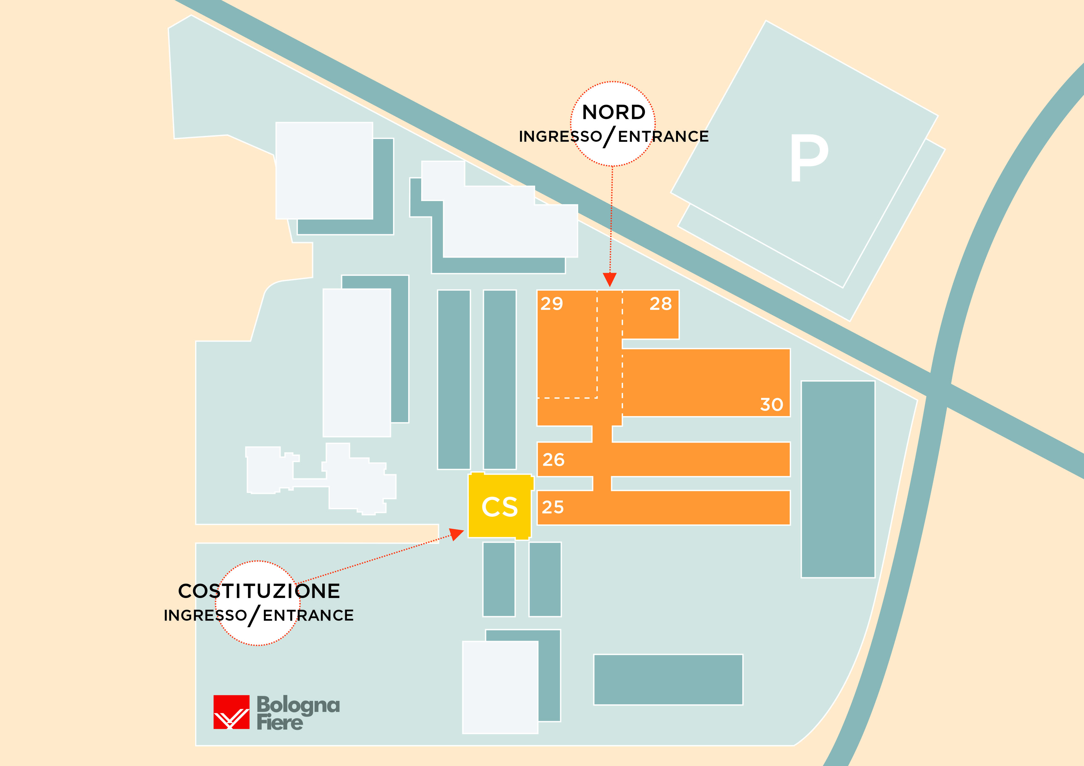 Zoomark 2019 |   Map of the pavilions