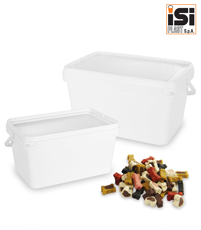Containers for dog and cat croquettes_ISI Plast S.p.A.
