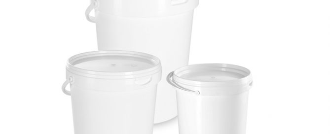 Buckets for concentrated citrus-based juices